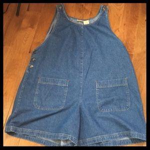 Short overalls - Women's